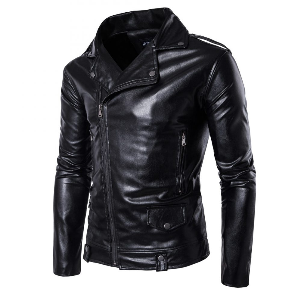 #holiday #traveling #travelling Casual Style Motorcycle Leather Jacket
