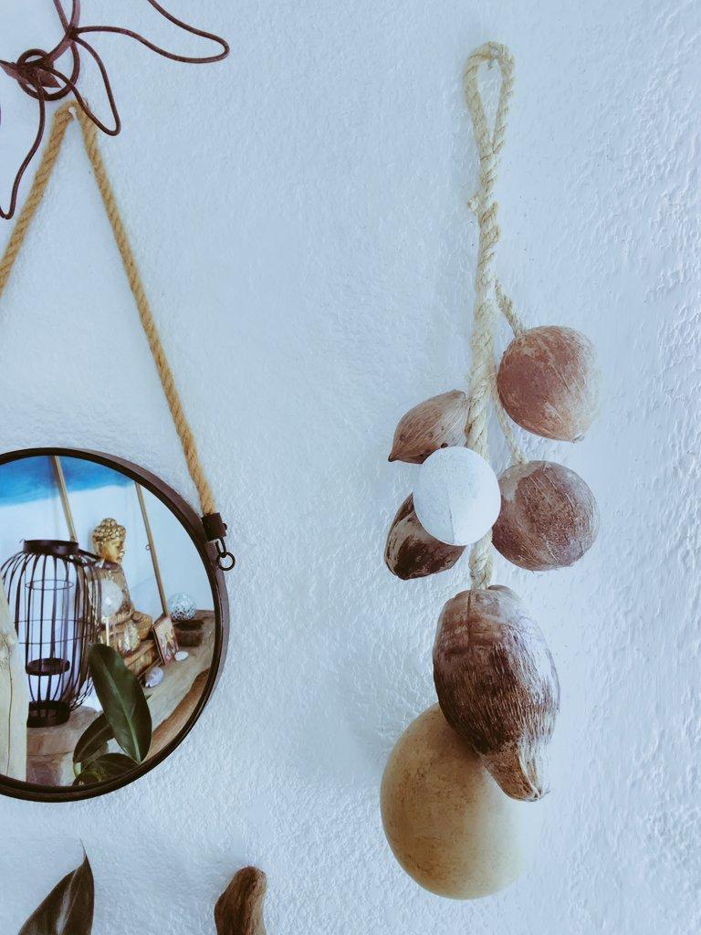Luisynk art. Desing & Ecofriendly   #Studioplaya 🐚#Desing  #Ambient 🍃 #©asaplaya 🏬 #Naturalart #frutossecos 🌰 #coconuts #cocos #style #art #relax #treasure #peace  #pozarica  # #meditation 🎎🎋 #pozarica