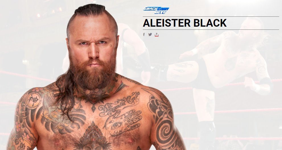 So Looks like Aleister Black's opponents on #SDLive will soon Fade To Black!!! Very intrigued to see him do big things on the blue brand.
