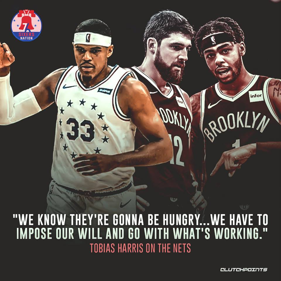 The #Sixers need to step on the gas and close out the series against the resilient #Nets