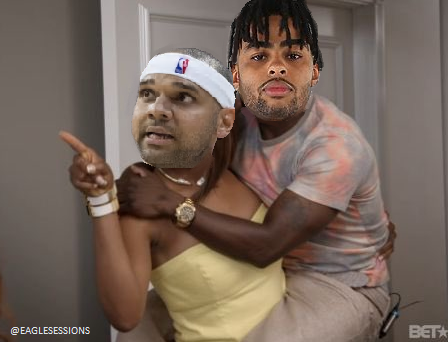 #Sixers players breathe on #Nets players  Jared Dudley: