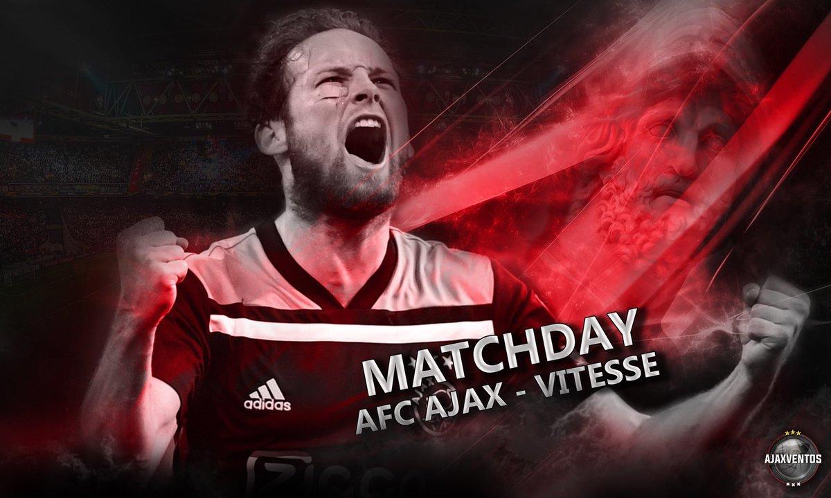 MATCHDAY!! #AjaVit #Ajax #Amsterdam #WijZijnAjax