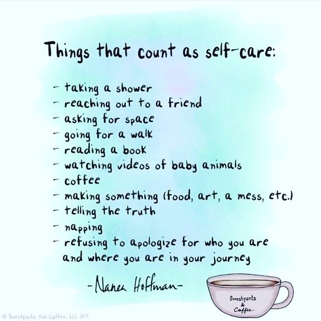 Remember to engage in self-care. You deserve to take time out of your day for yourself, this doesn't make you selfish it shows that you have self love.  #mentalhealthawareness #selfcare #selflove #copingskills