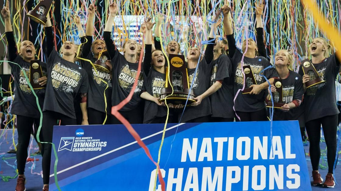 OU women win fourth NCAA gymnastics title; men finish second to Stanford https://buff.ly/2KW0yYt #Sooners