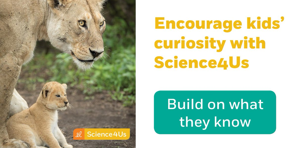 Are you trying to encourage your student's natural interest in life science? See how to encourage them with #Science4Us! 🦁 🌱  #edtech #K12 #STEMed #elemschool #earlyed #DigLN  http://j.mp/2IAG1a1