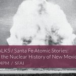 Image for the Tweet beginning: The Santa Fe CALL/WALK: Atomic
