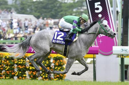 Milky さんは、「『ホ』から始まる、9文字の競走馬」を挙げてください。 #keiba https://t.co/gBEpE1zxOa ホエールキャプチャくらいしか思いつかなかった 芦毛さん好き