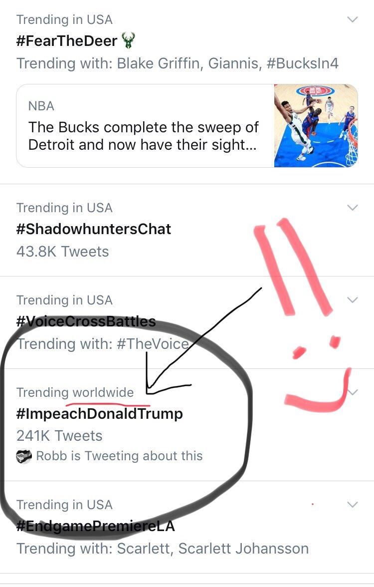 bindtrump hashtag on Twitter