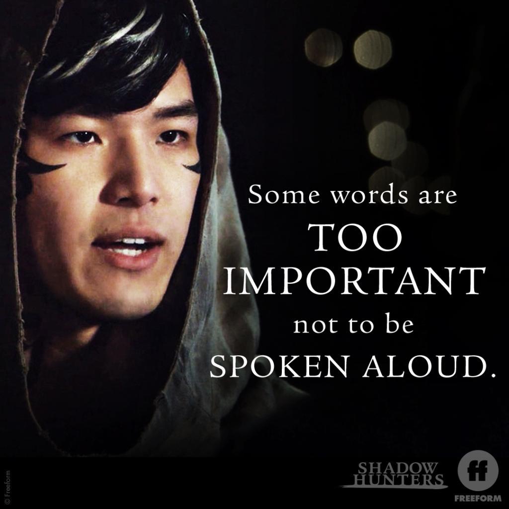 100% agree.  #ShadowhuntersChat #Shadowhunters // @_jbho_<br>http://pic.twitter.com/aL1spNp2XK