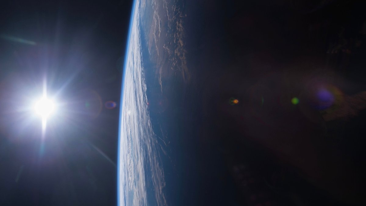 "The feeling you get when you see 🌎 from space. We can look down and realize that we are all riding through the universe together on this spaceship we call Earth, that we are all interconnected, that we are all in this together, that we are all family."" – 👨‍🚀 R. Garan #EarthDay"