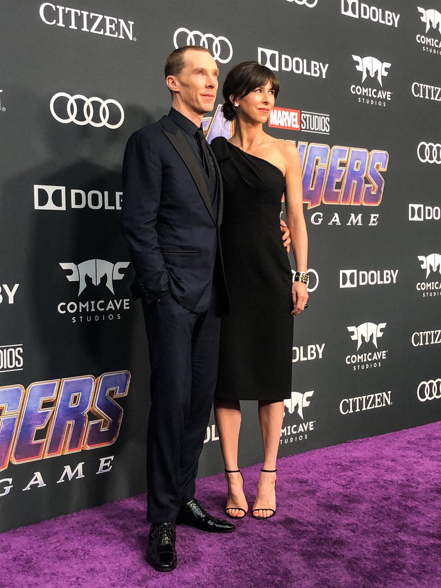 The Doctor - Benedict Cumberbatch - is in! #DoctorStrange #AvengersEndgame