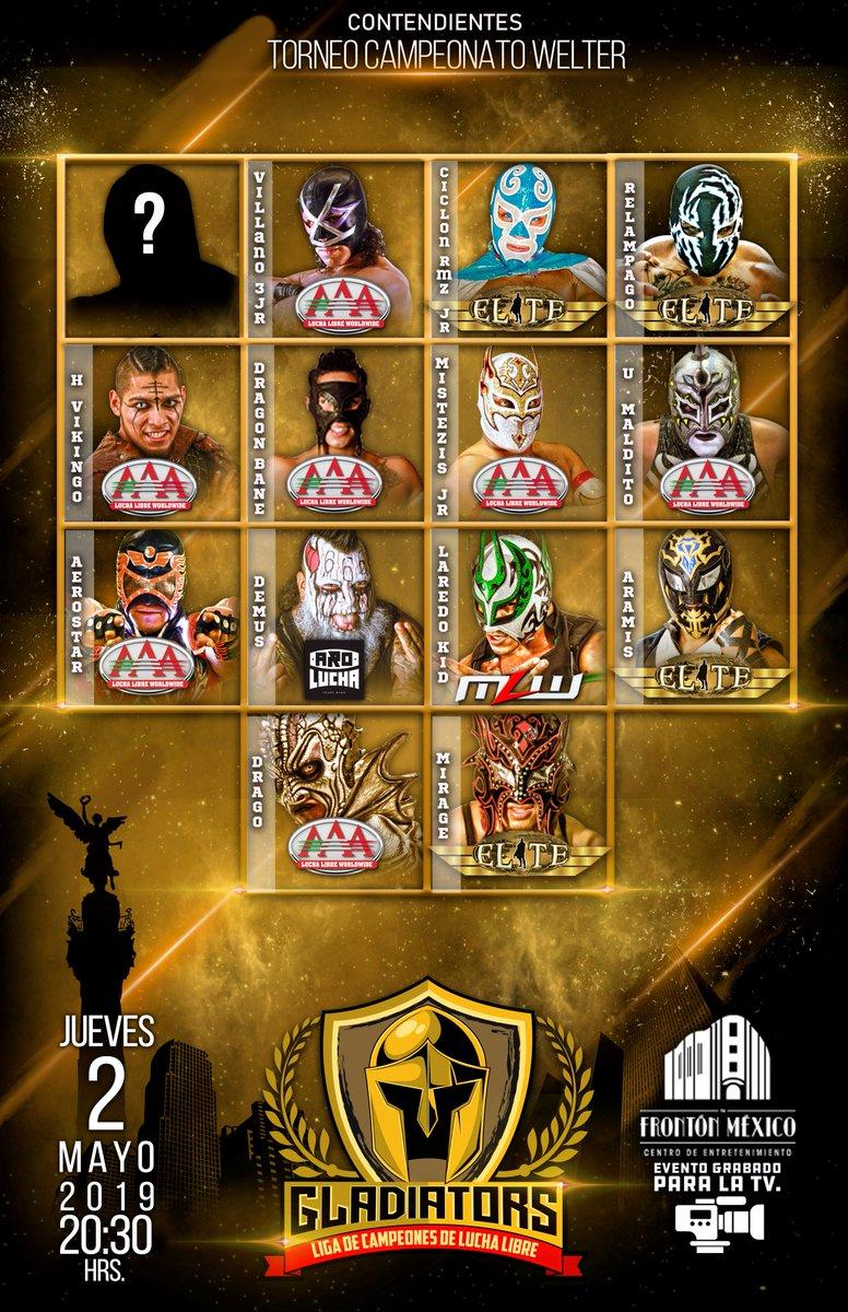 Gladiators: Liga de la Campeones, se disputarán 5 títulos 7