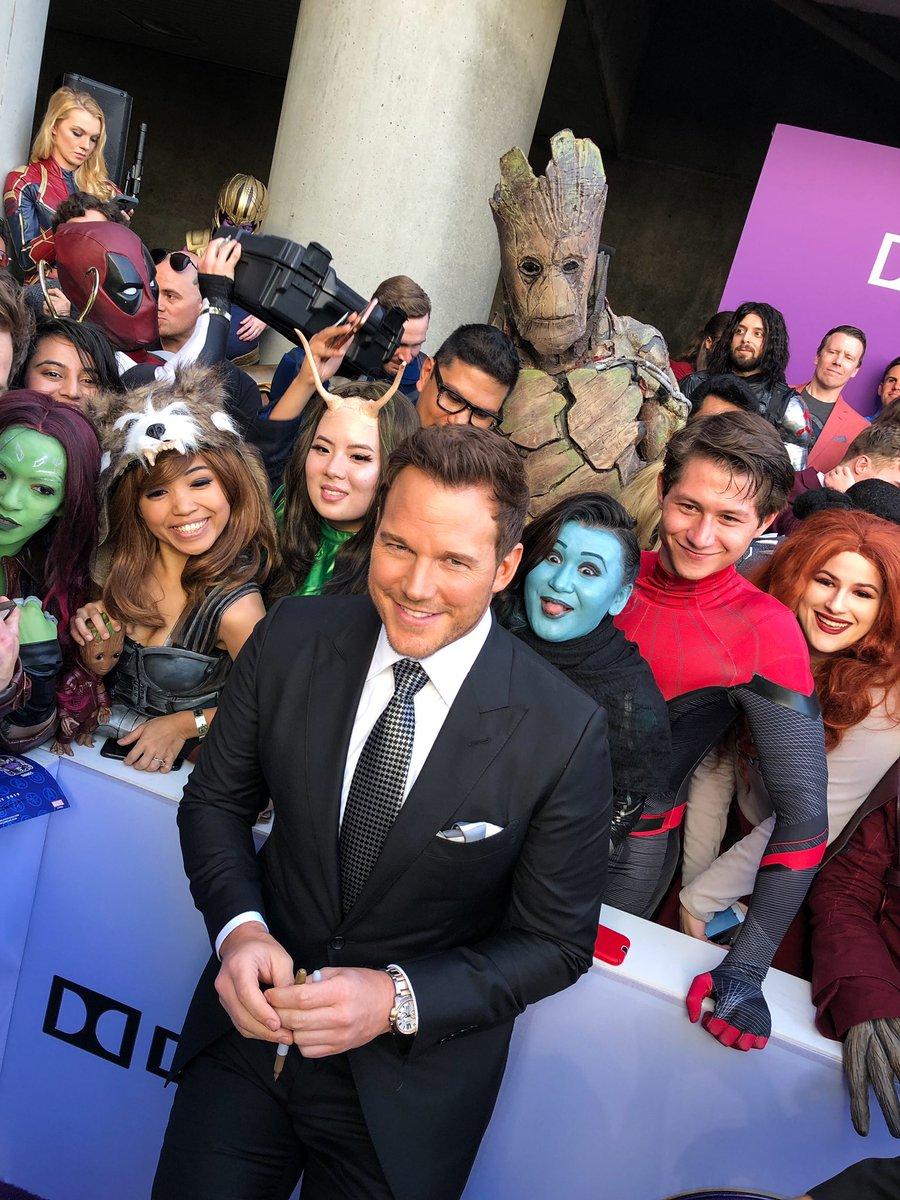 It's Star-Lord, man! @prattprattpratt #StarLord #AvengersEndgame