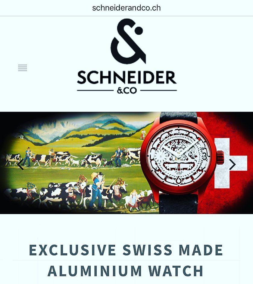 Situated in the Neuchâtel mountains, Schneider&Co can be proud of taking part along with rare watchmaking brands which manufacture the most part of the elements which compose its timepieces.  The professions, that they have united under the same roof, c https://t.co/WOHggTdgDc https://t.co/hGjyxKvayH