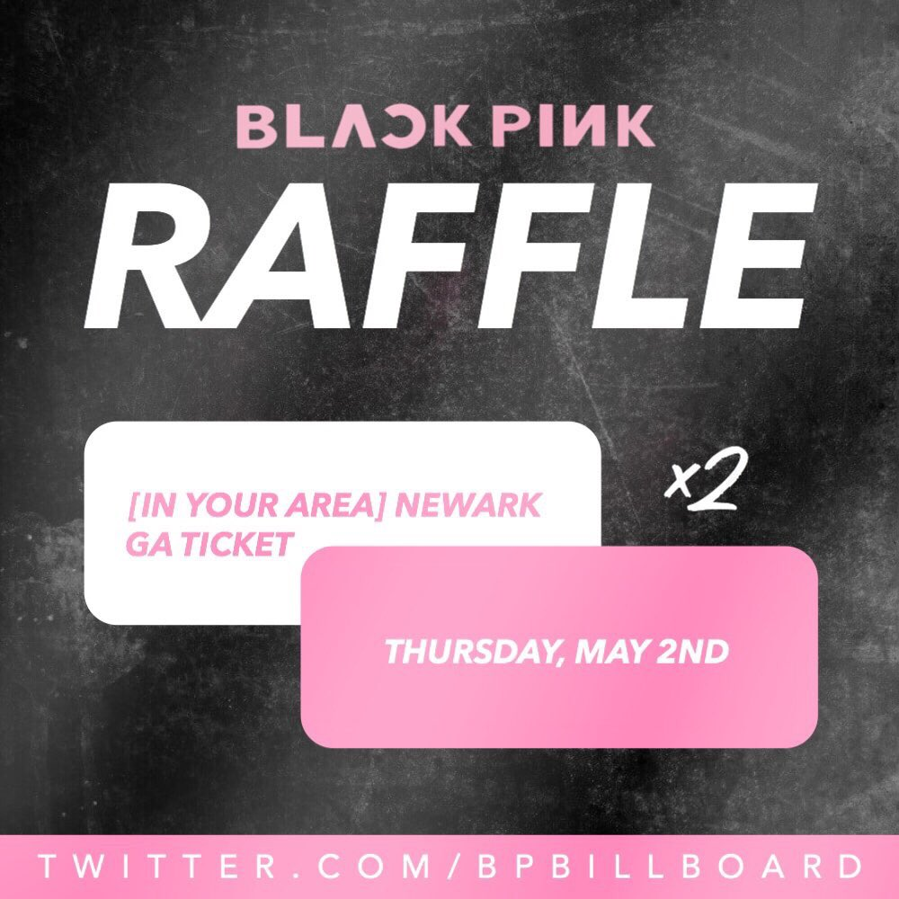 BLINKS! We are having a raffle of TWO May 2nd Newark GA tickets! All you have to do is donate $10 to our PayPal and you will get an entry. Follow the instructions in the poster and ask us any questions! This will close on Friday!!   @ygofficialblink<br>http://pic.twitter.com/zbPmJJcRny