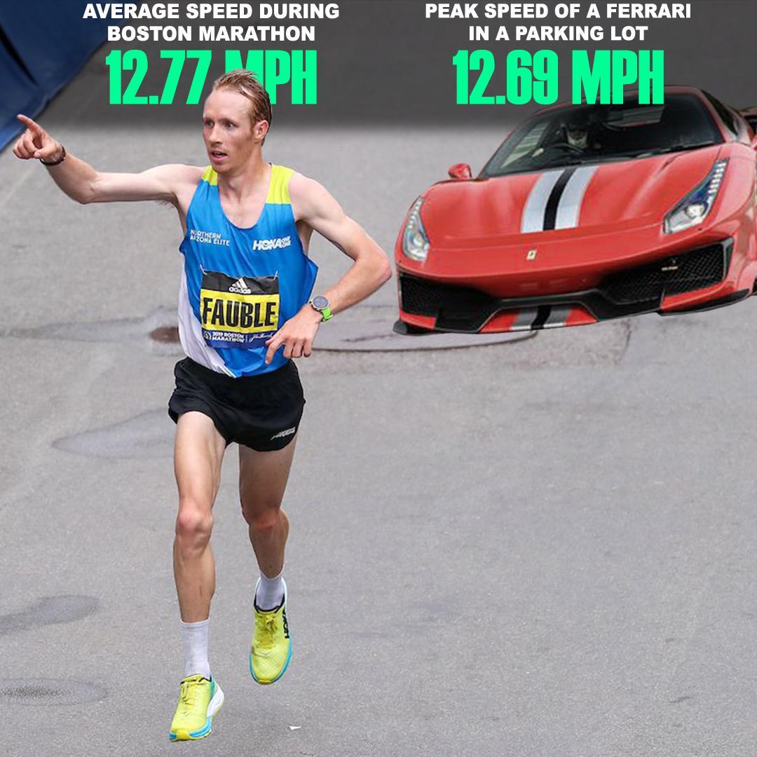 .@scottfaubs hit Ferrari speeds in the Boston Marathon   @KlosinskiKyle<br>http://pic.twitter.com/vjgwjmfVwF