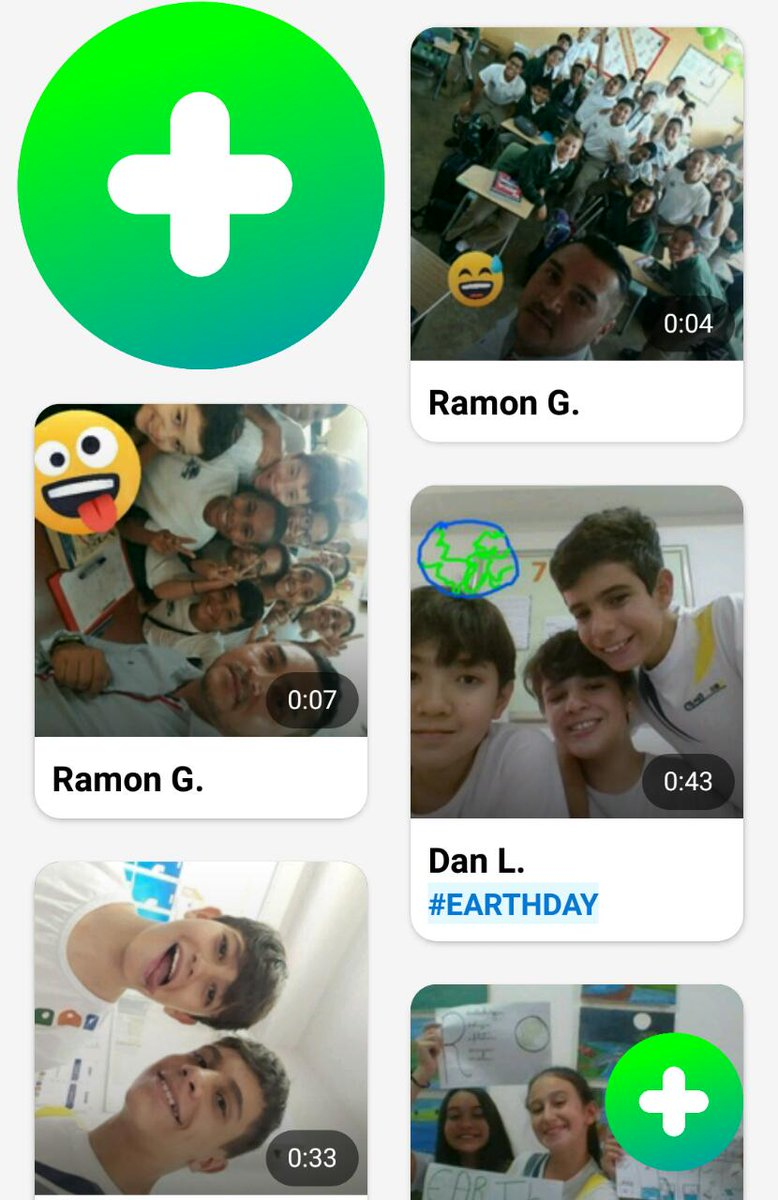 Celebrating #EarthDay and #StudentVoice with #FlipgridFever... Today @ramonguerra19 and I connect Brazil and Panama. #MIEexpert #MicrosoftEDU @EscolaCamb
