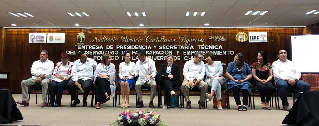 Ha sido muy grato regresar a Chiapas y constatar los esfuerzos que se están realizando a favor de la igualdad de género en el estado.Dialogamos sobre la participación política de las mujeres, retos y avances. ¡Gran intercambio!