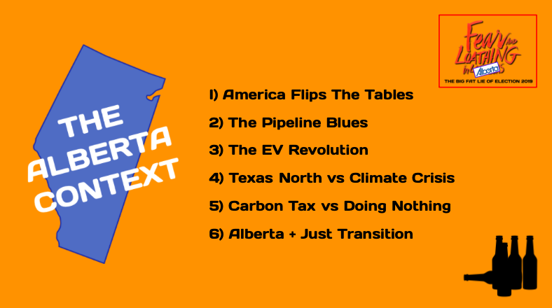 The need for the next piece was clear. Pipelines & carbon taxes were all anybody was talking about, 100% context free. Like another tarsands boom was just around the corner if only the right leader could bellow loud enough. AB needed context we just weren't getting  #abpoli /33
