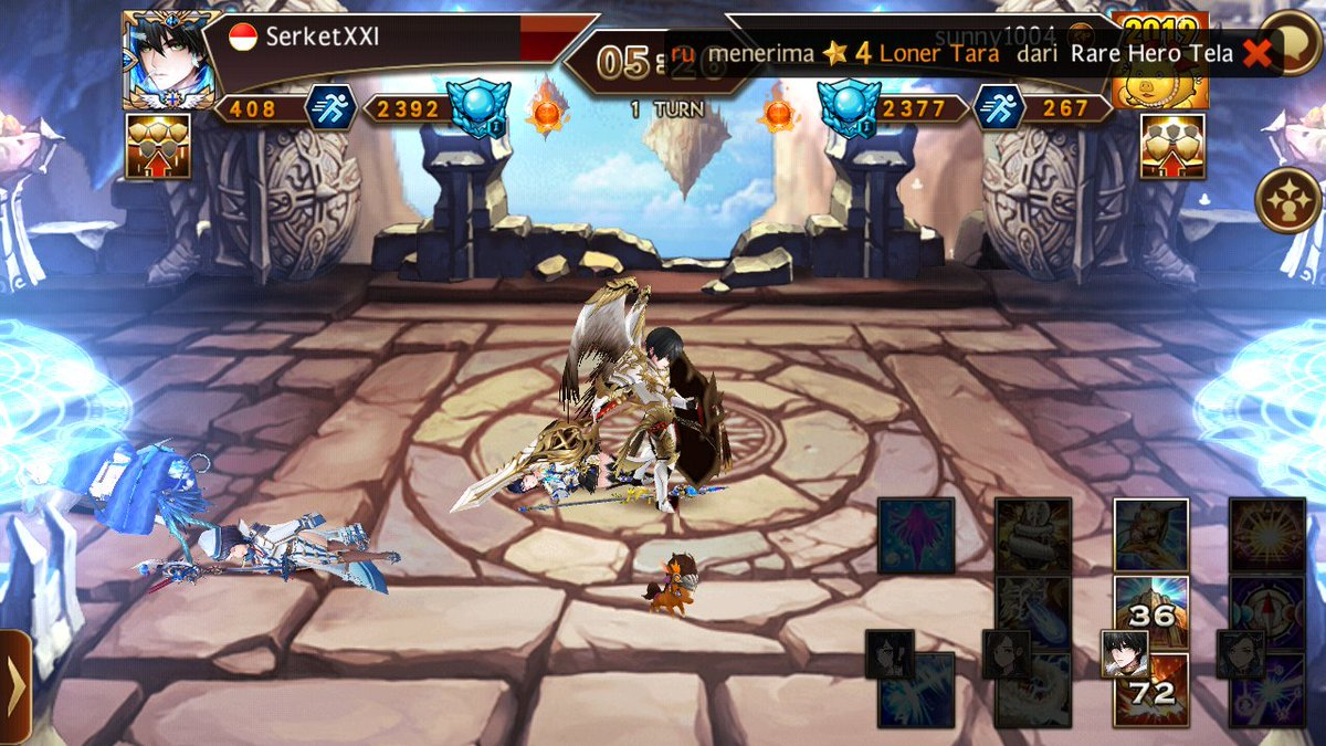 Yesterday and today arena    #sevenknights #7knights #netmarble