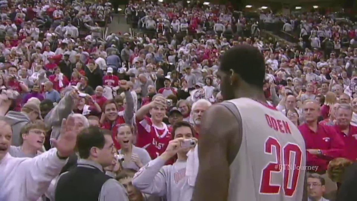 Nearly 13 years after he first arrived at @OhioState, Greg Oden (@Daddyluv2250) took his last final today.  Congrats to the @OhioStateHoops great!