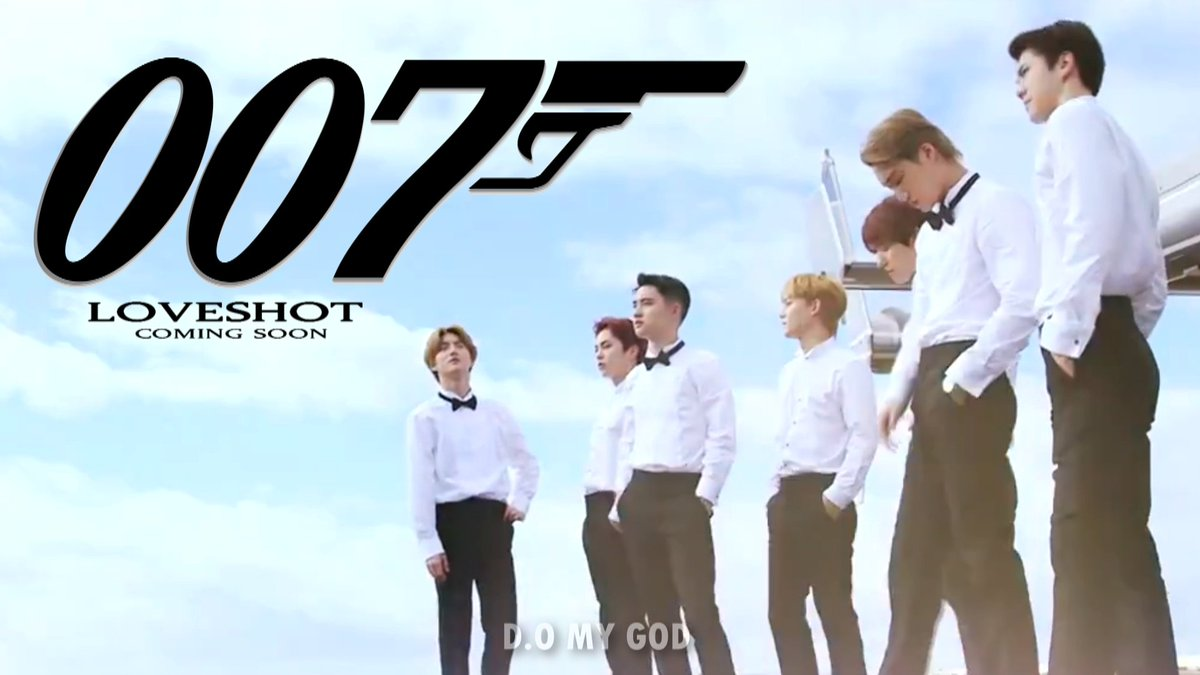 LOVESHOT IS EVEN A GOOD TITLE FOR A 007 MOVIE, JESUS CHRIST PLEASE GIVE US MORE OF THAT!!!!!!! #BBMAsTopSocial EXO @weareoneEXO<br>http://pic.twitter.com/l9P0cILmEs