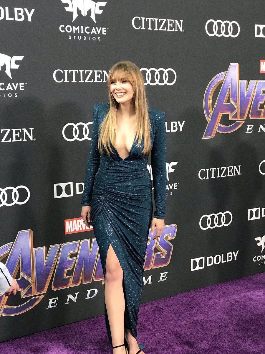 Filmsteria On Twitter Linda Cardellini Elizabeth Olsen Scarlett Johansson Zoe Saldana En La Alfombra Purpura De Avengersendgame