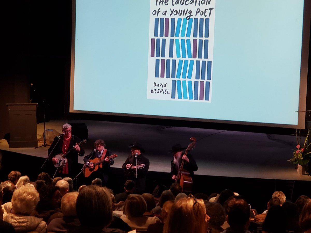 Books and music: love #pdx Oregon Book Awards.@literaryarts<br>http://pic.twitter.com/dtDhu0UqKw