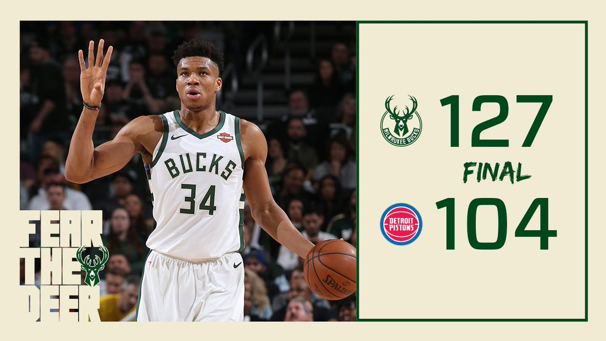 Milwaukee Bucks's photo on #FearTheDeer