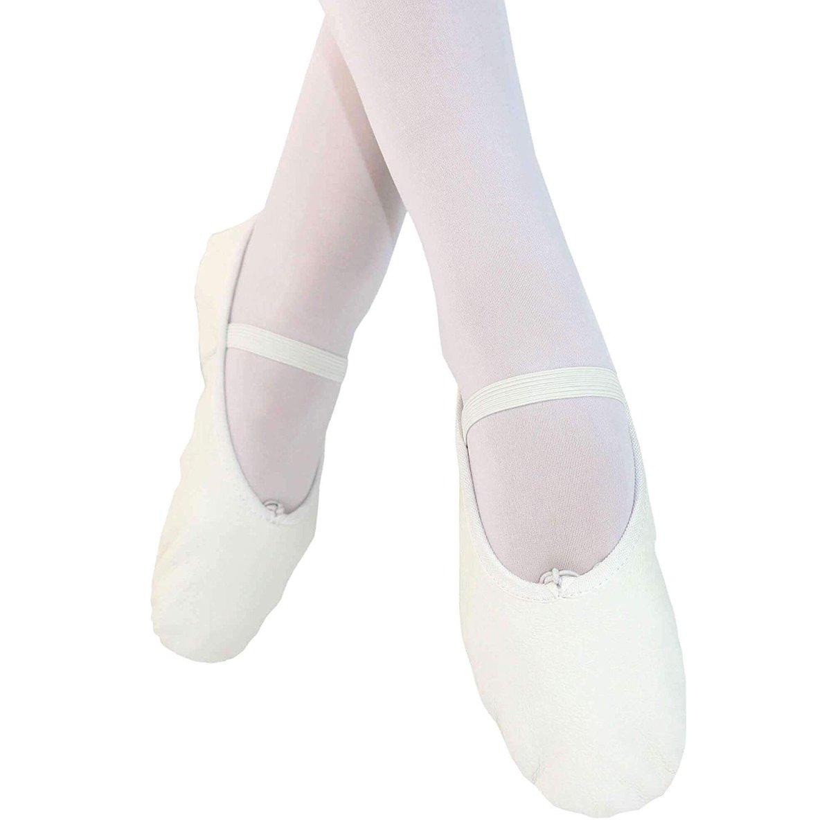 Danzcue Child Full Sole Leather Ballet Slipper