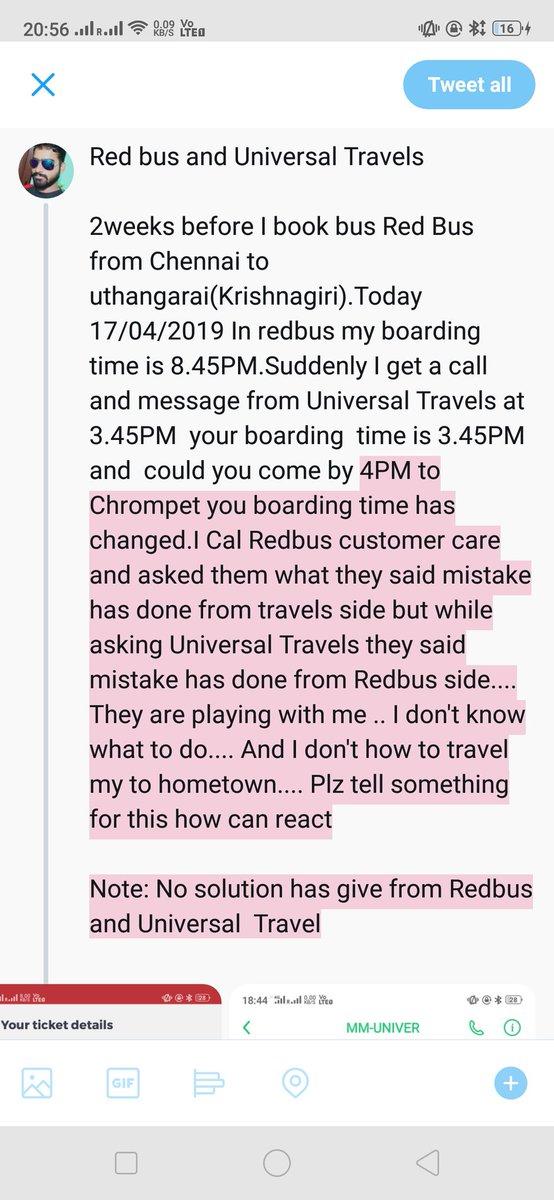 redBus on Twitter: