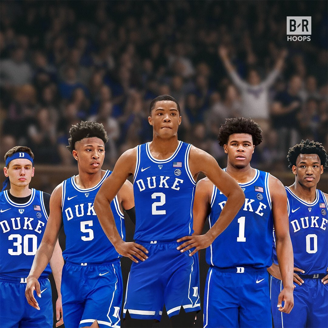 In case anyone was wondering about Duke-post Zion Williamson, here is their 2019 recruiting class ...  No. 4 Vernon Carey Jr. No. 8 Matthew Hurt No. 23 Wendell Moore No. 29 Cassius Stanley No. 32 Boogie Ellis  NCAA HOOPS ODDS ▶️ https://bit.ly/2Omvi36  #HereComesDuke