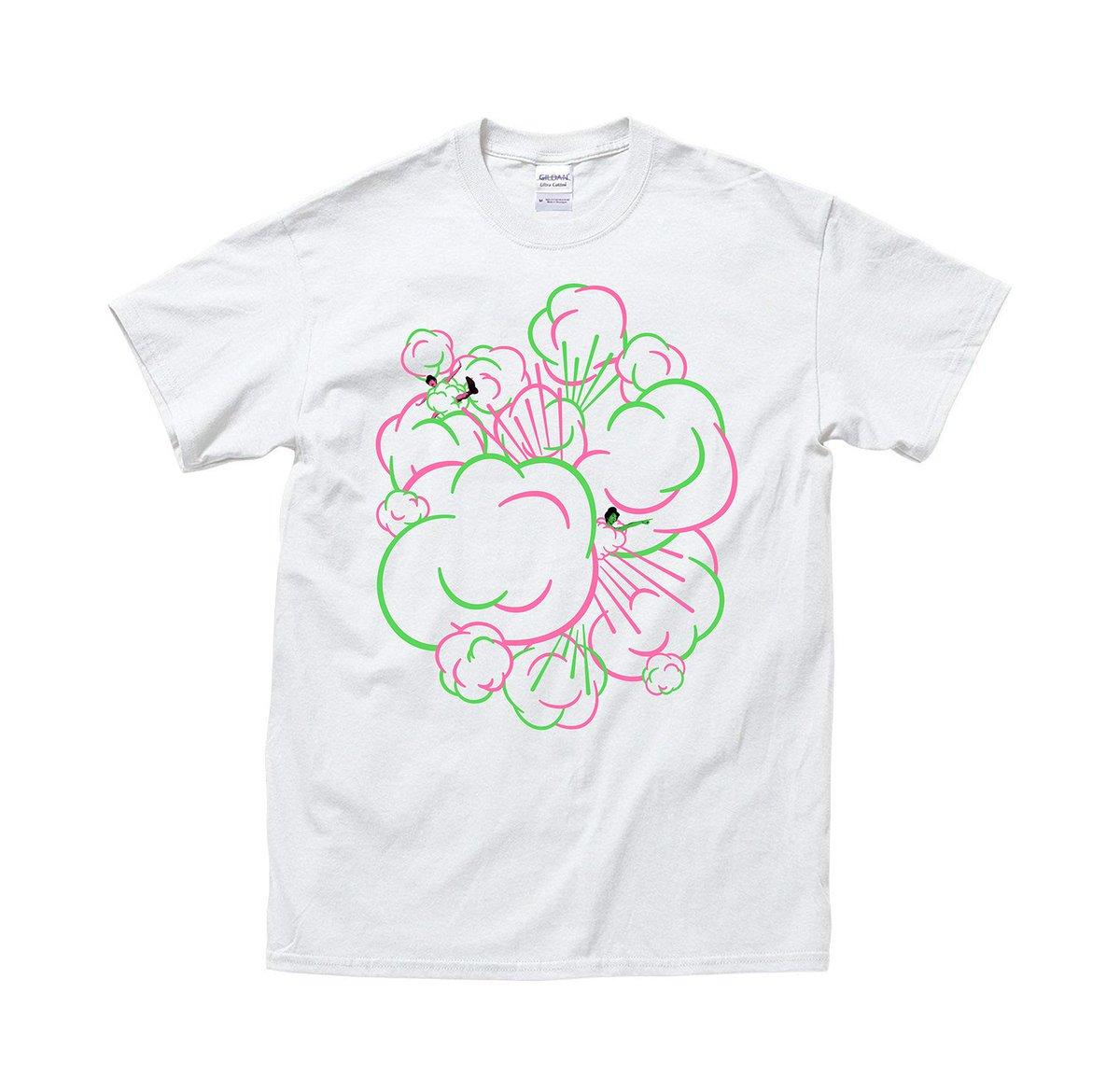 ザ・ギース単独ライブ 「スプリングボンボン」 グッズのご紹介その1 ボンボンTシャツ ¥2800 サイズS・M・L・XL #ザギース #スプリングボンボン