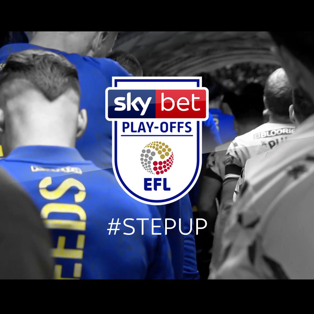 🏆Its time for the #SkyBetPlayOffs... 👊 Its time to #StepUp.