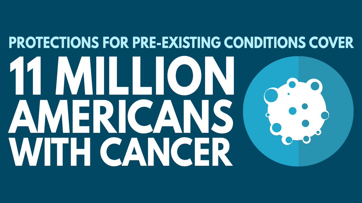 If Attorney General Barr succeeds in repealing the ACA in court, millions of Pennsylvanians with pre-existing conditions like arthritis, cancer, or diabetes could lose the necessary protections they depend on for their health care. We can't let that happen.  #ProtectOurCare
