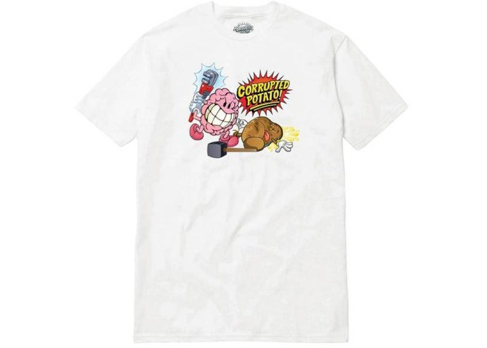 6f6a04959 Hit the link to shop  https   stockx.com imran-potato-corrupted-potato-tee-white  …pic.twitter.com dy5lRdDsYB