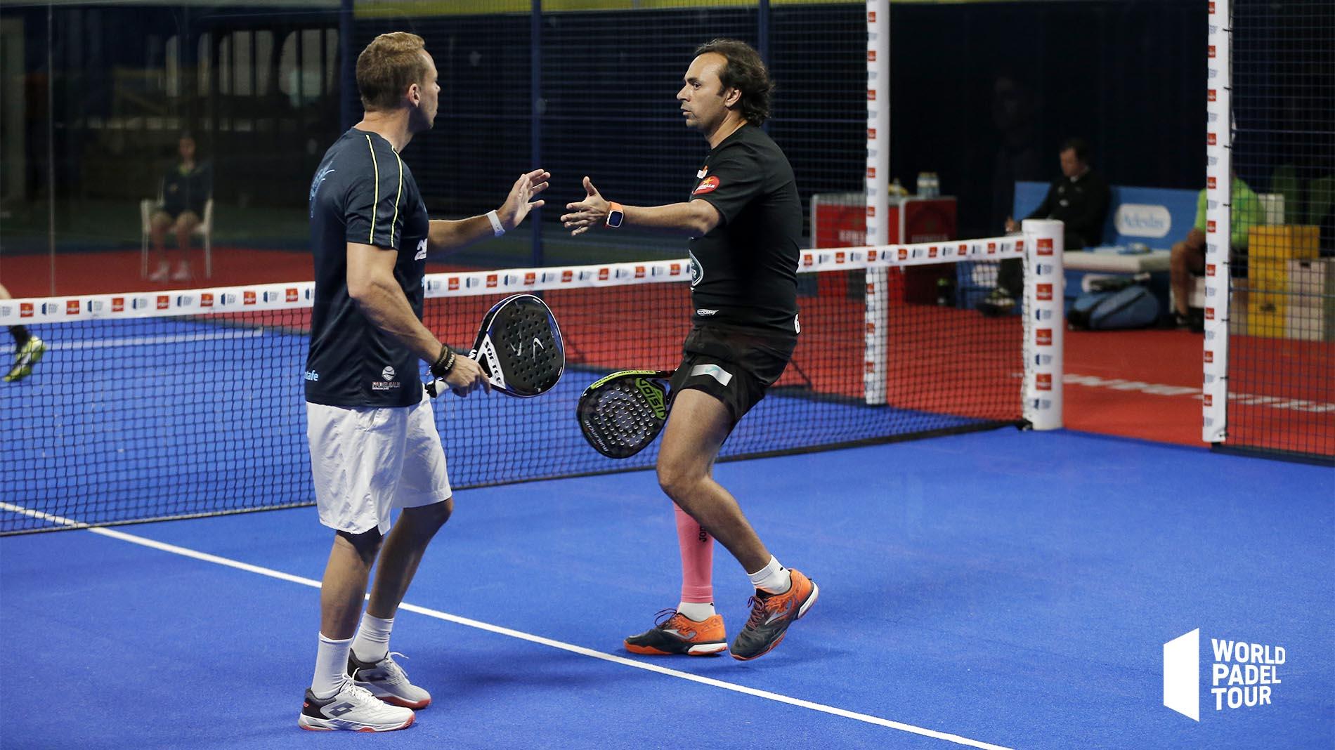 Aday Santana y Godo Díaz vencieron en la previa del Vigo Open