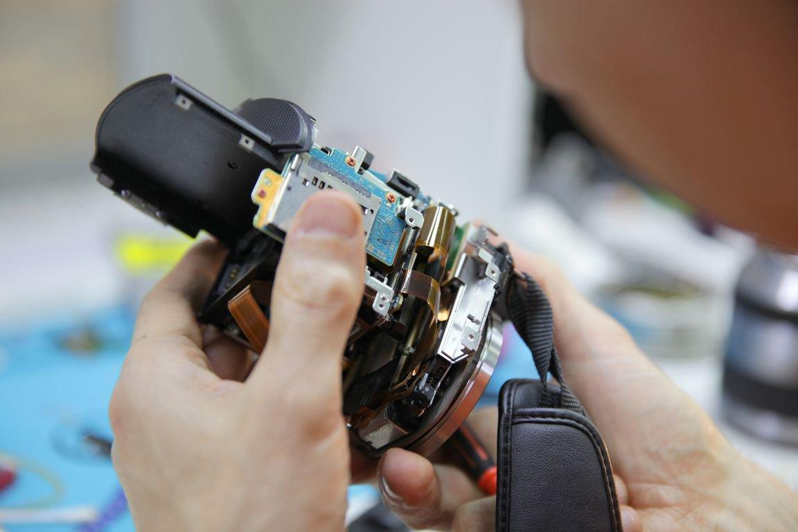 отремонтировать цифровой фотоаппарат громкоговорителей