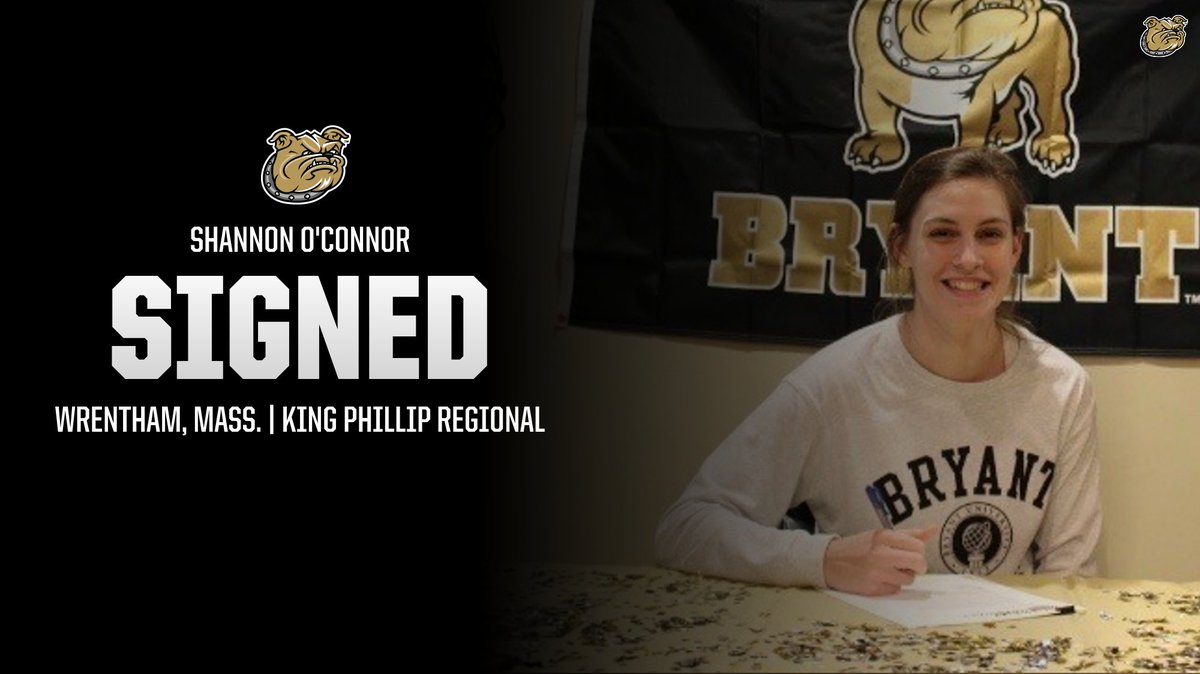 Happy to announce the addition of Shannon O'Connor from Wrentham, Mass.! Welcome to our Bulldog family!  📝: http://bit.ly/WBB-2023  #AllHeart | #AllHustle | #GoBryant