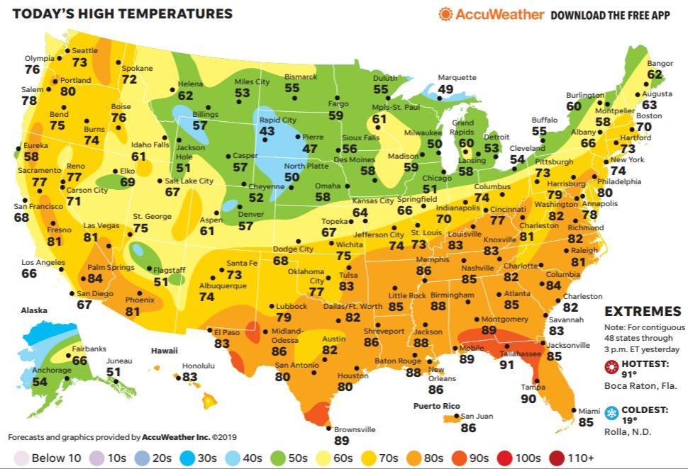 USA TODAY Weather auf Twitter: \