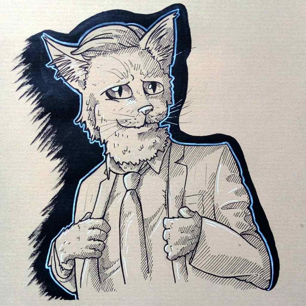 Hipster cat 🐱 👔 https://t.co/71NfBP0VZs https://t.co/kBl3gc661a