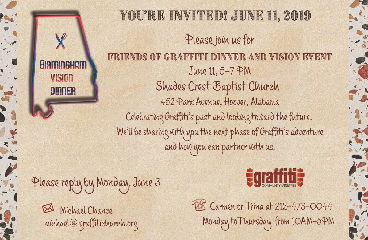 Its going to be a great time of fellowship food and challenge for all friends of graffitipic twitter com xe6bnazx6p