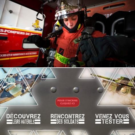 #Agenda : le métier de pompier de Paris vous intéresse ? 👨🚒👩🚒😀 Retrouvez nos recruteurs au #SalonDesMetiers de l'@armeedeterre vendredi 10 et samedi 11 mai !  Attention, pensez à vous inscrire au préalable avant le 9 mai 👉https://bit.ly/2J1DCVT