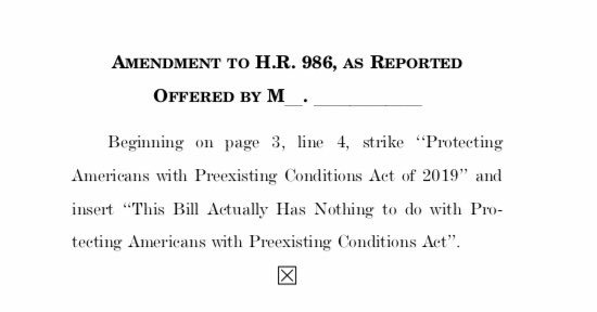 Matt Fuller On Twitter Here S An Actual Amendment Submitted To
