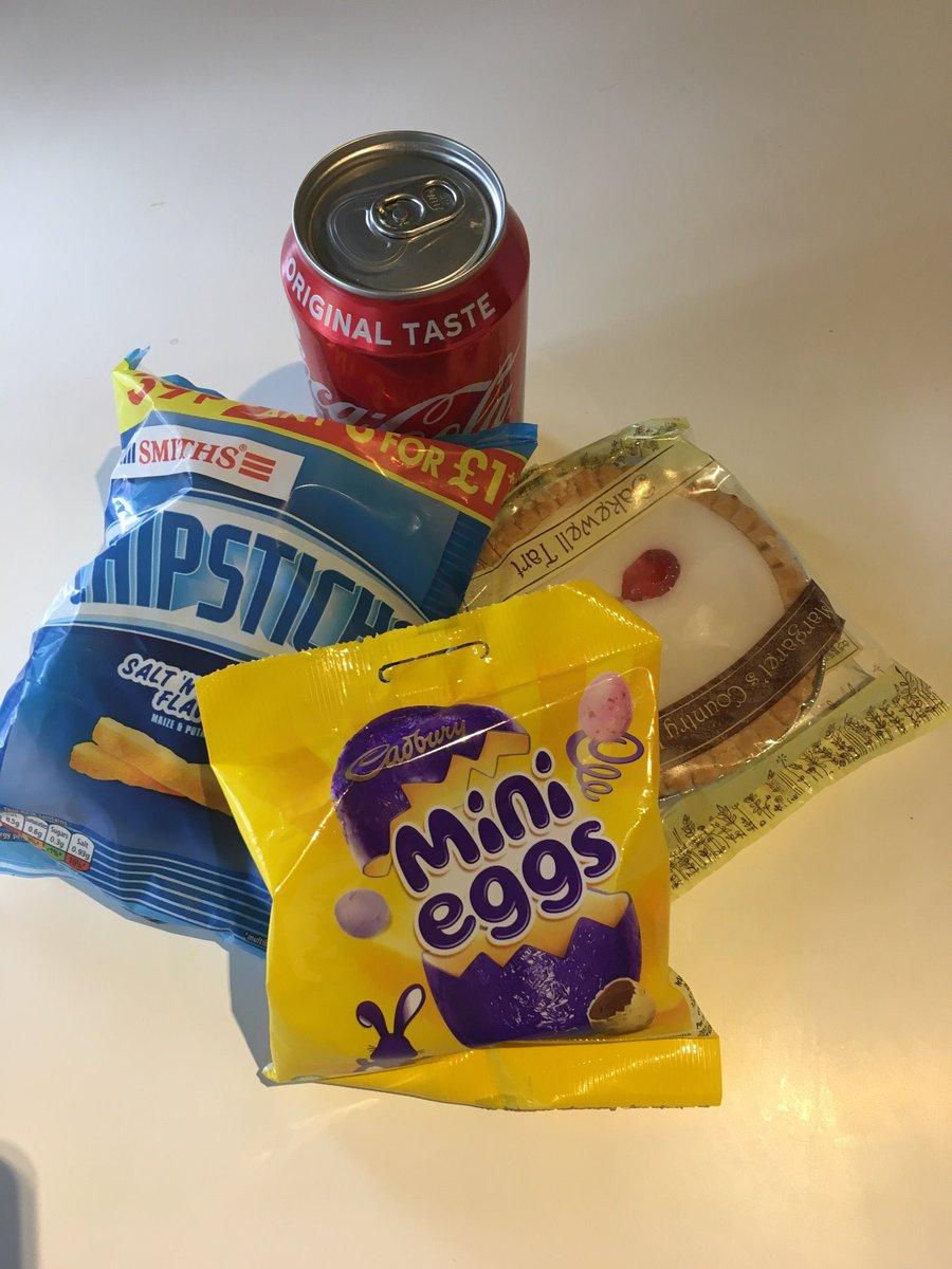 Today's snacks.