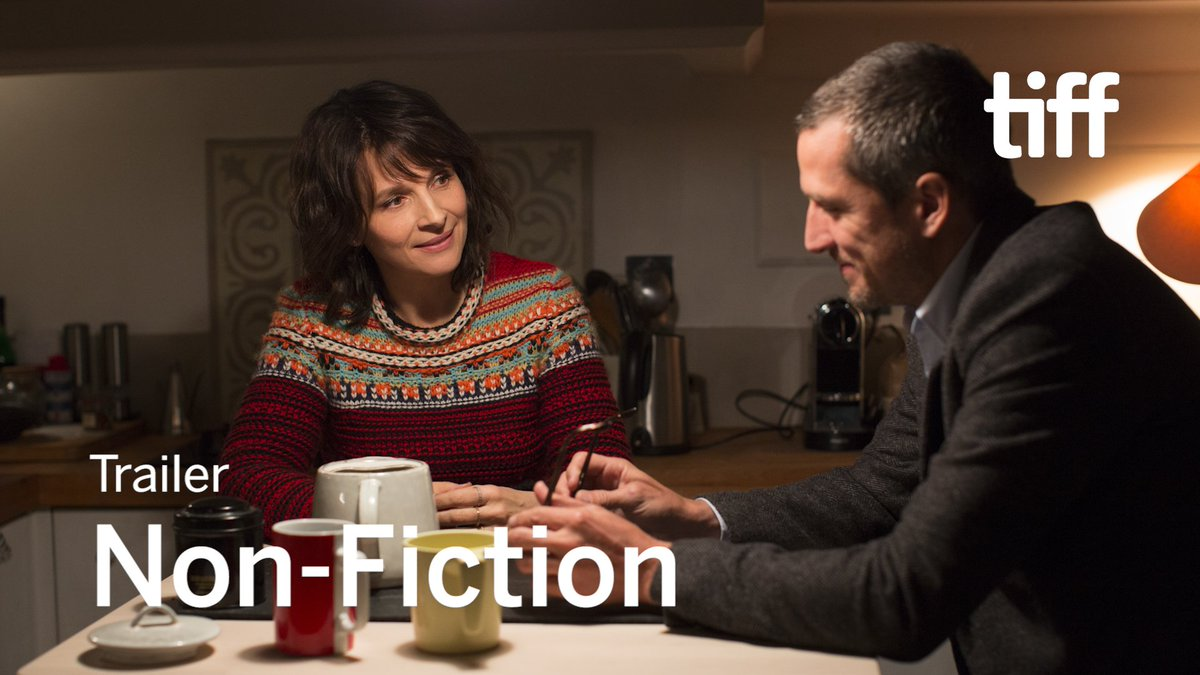 French auteur Olivier Assayas presents another thought-provoking (and stylish) reflection on human connections in NON-FICTION, his follow-up to 2016's critically-acclaimed PERSONAL SHOPPER.