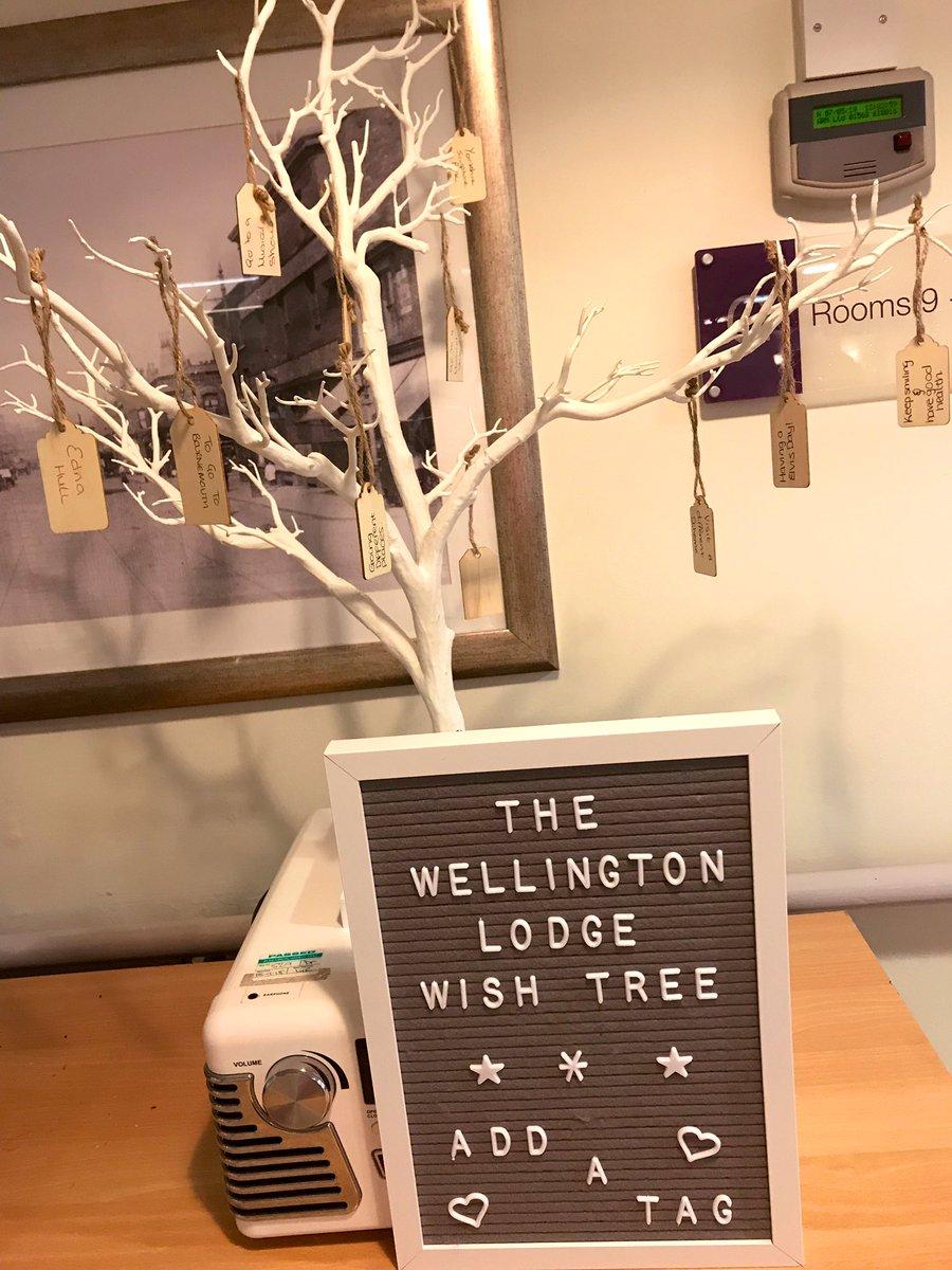 Wellington Lodge Twitter post