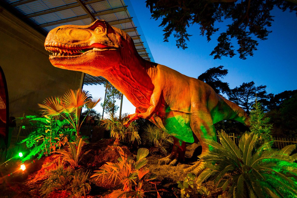 Were Back! A Dinosaurs Story (1993) Dir. by Simon Wells, Phil Nibbelink, Ralph Zondag Well, Were Extending Our Stay! is less catchy. Animatronic dinos are now here through May 27 (Tiny NightLife on NightLife time).