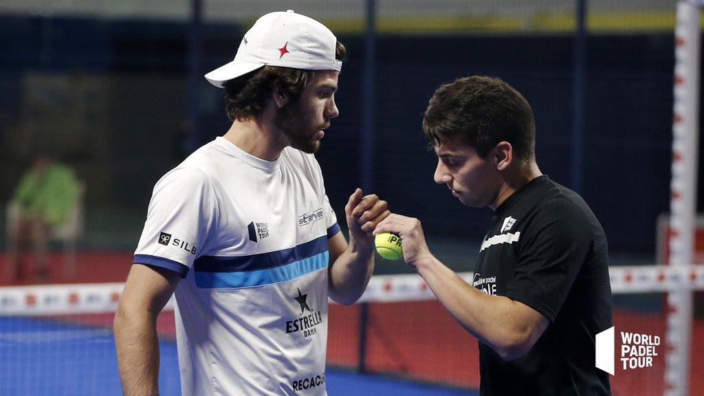 Javi Garrido y Martin Di Nenno volverán a estar en un cuadro final