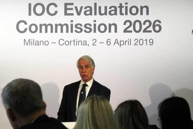 test Twitter Media - Malagò To Lead Milan-Cortina 2026 Olympic Organizing Committee Should BidPrevail https://t.co/6WI4LzlDfg https://t.co/2N6oCm4Osz